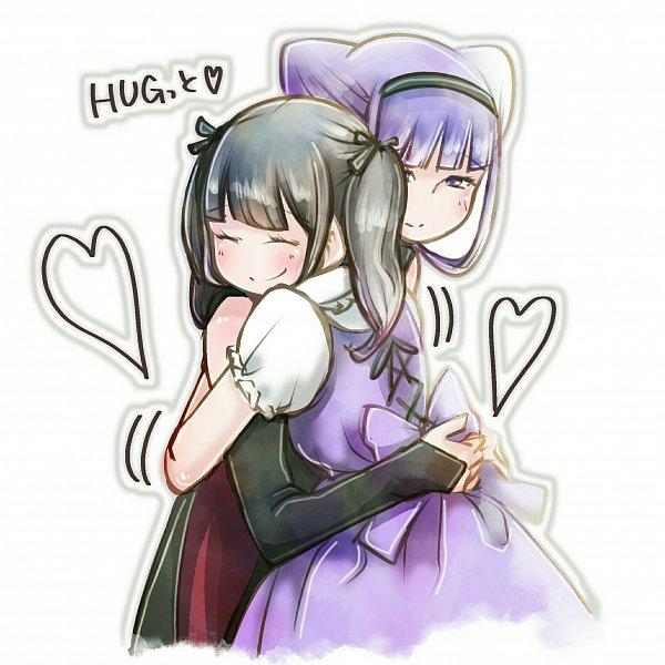 Tags: Anime, Pixiv Id 15049876, HUGtto! Precure, Tamura Yukari (Character), Lulu Amour, Black Cape, Pixiv, Twitter, Fanart, Fanart From Pixiv