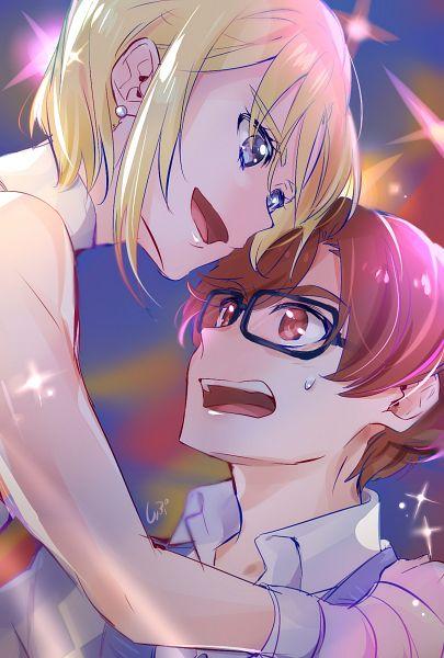 Tags: Anime, Shipu, HUGtto! Precure, Aisaki Masato, Wakamiya Henri, Fanart From Pixiv, Pixiv, Fanart