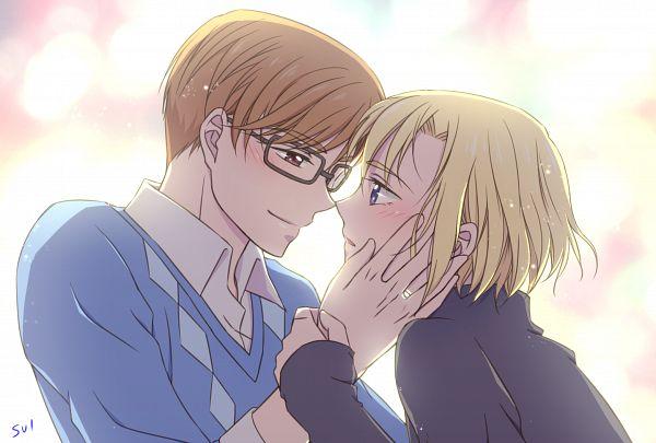 Tags: Anime, Pixiv Id 32705762, HUGtto! Precure, Aisaki Masato, Wakamiya Henri, Fanart, Fanart From Pixiv, Pixiv