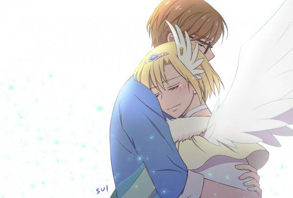 Tags: Anime, Pixiv Id 32705762, HUGtto! Precure, Cure Infini, Aisaki Masato, Wakamiya Henri, Magical Boy, Fanart From Pixiv, Pixiv, Fanart