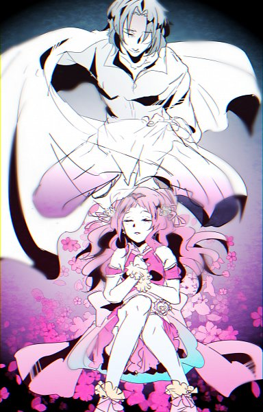 Tags: Anime, Pixiv Id 19732861, HUGtto! Precure, Cure Yell, George Cry, Nono Hana, Fanart From Pixiv, Pixiv, Fanart