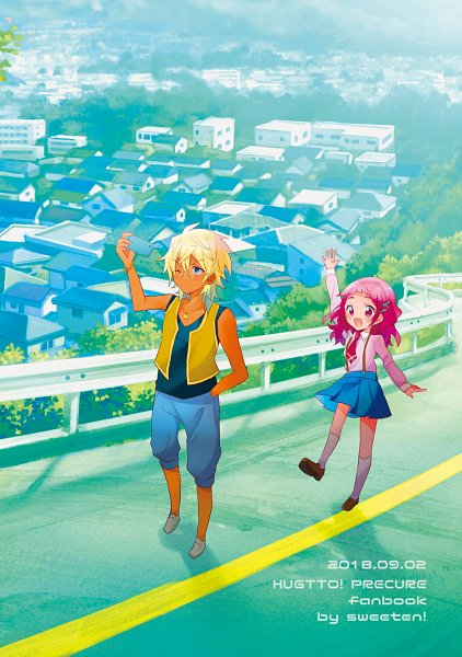 Tags: Anime, Pixiv Id 285473, HUGtto! Precure, Charariito, Nono Hana, Fanart From Pixiv, Pixiv, Fanart