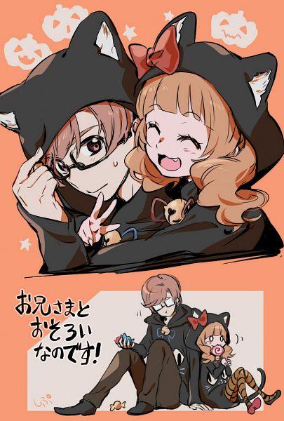 Tags: Anime, Shipu, HUGtto! Precure, Aisaki Emiru, Aisaki Masato, Pixiv, Fanart, Fanart From Pixiv