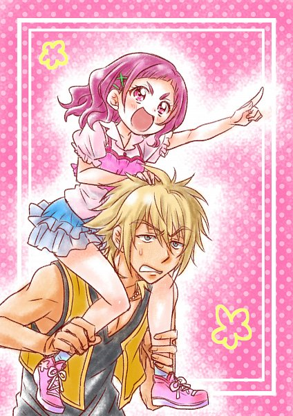 Tags: Anime, Pixiv Id 2418236, HUGtto! Precure, Nono Hana, Charariito, Upset, Pixiv, Fanart, Fanart From Pixiv