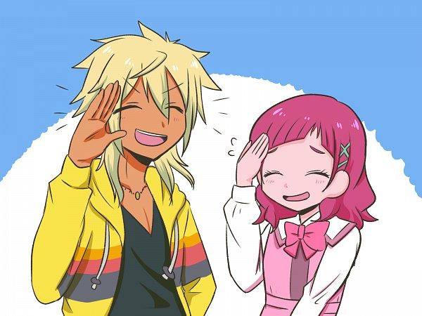 Tags: Anime, Pixiv Id 9632871, HUGtto! Precure, Charariito, Nono Hana, Pixiv, Wallpaper, Fanart, Twitter, Fanart From Pixiv