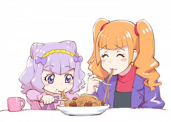 Tags: Anime, Ueyama Michirou, HUGtto! Precure, Aisaki Emiru, Lulu Amour, Pixiv, Fanart, Fanart From Pixiv