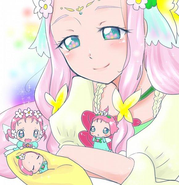 Tags: Anime, Pixiv Id 1608718, Mahou Tsukai Precure!, Hanami Kotoha, Cure Felice, Haa-chan, Fanart From Pixiv, Pixiv, Fanart