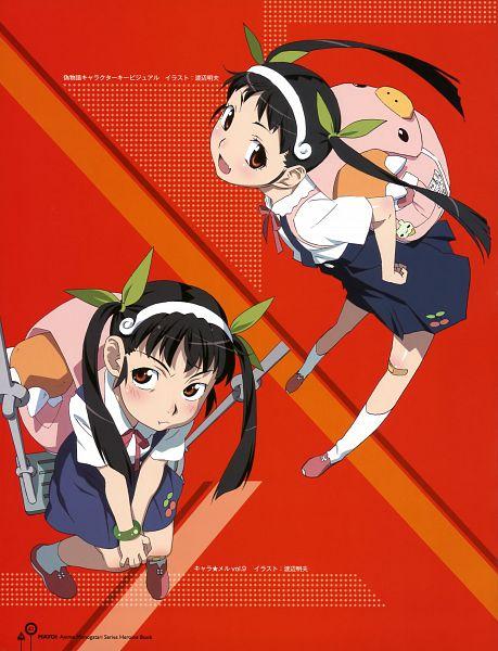 Tags: Anime, Watanabe Akio, Shaft (Studio), Monogatari, Monogatari Series Heroine Book Volume 2 - Hachikuji Mayoi, Hachikuji Mayoi, Scan, Official Art
