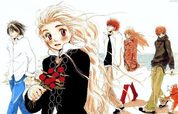 Tags: Anime, Umino Chika, Hachimitsu to Clover, Yamada Ayumi, Morita Shinobu, Mayama Takumi, Hanamoto Hagumi, Takemoto Yuuta, Official Art, Honey And Clover