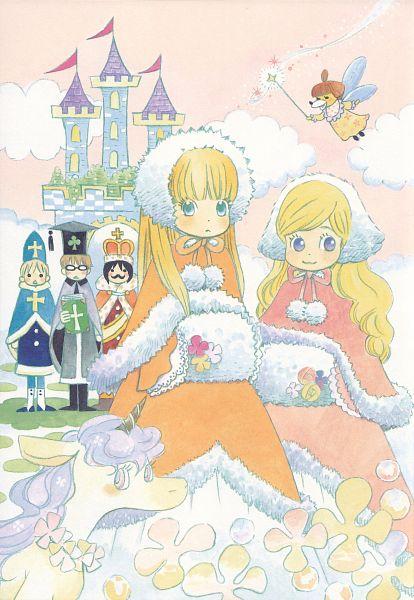 Tags: Anime, Umino Chika, Hachimitsu to Clover, Mayama Takumi, Hanamoto Hagumi, Takemoto Yuuta, Yamada Ayumi, Leader, Morita Shinobu, Official Art, Honey And Clover