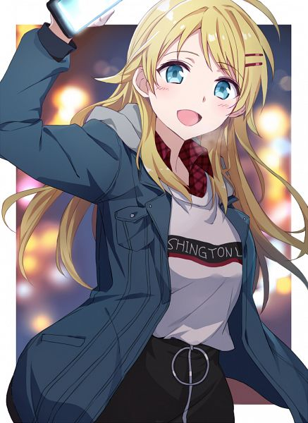 Tags: Anime, Tsuedzu, The iDOLM@STER: Shiny Colors, Hachimiya Meguru
