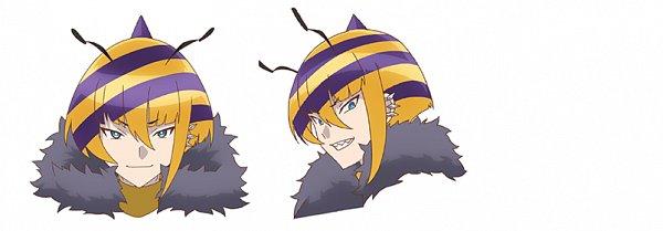Tags: Anime, Itou Yasuyuki, Kinema Citrus, Show by Rock!! Mashumairesh!!, Hachin, Official Art