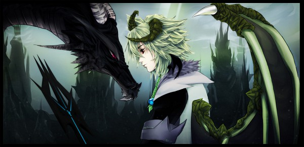 Tags: Anime, Hachiyuki, Facebook Cover, deviantART, Original