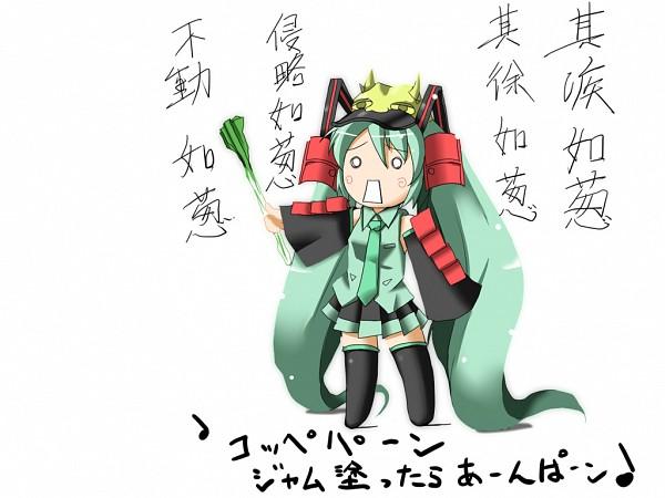 Tags: Anime, VOCALOID, Hatsune Miku, Hachune Miku