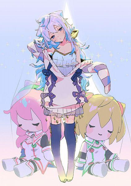 Tags: Anime, Pixiv Id 33254587, Hacka Doll, Hacka Doll No. 2, Hacka Doll No. 1, Hacka Doll No. 3