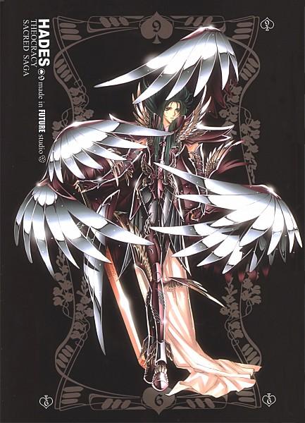 Tags: Anime, Future Studio, Saint Seiya, Sacred Saga, Hades (Saint Seiya), Mobile Wallpaper, Specters