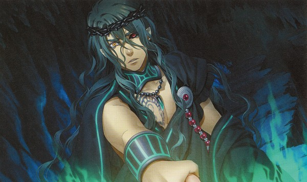 Tags: Anime, Kazuki Yone, Kamigami no Asobi, Hades Aidoneus, Official Art, Wallpaper, CG Art