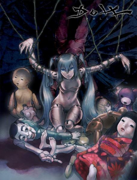Tags: Anime, Shinichi Tahara, VOCALOID, Hagane Miku, Marionette, Pixiv, Fanart, Type-H
