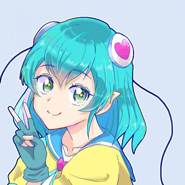 Tags: Anime, Pixiv Id 36647357, Star☆Twinkle Precure, Hagoromo Lala, Fanart From Pixiv, Pixiv, Fanart