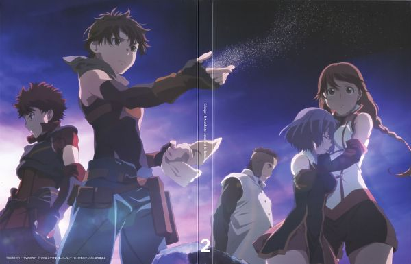 Tags: Anime, Hosoi Mieko, A-1 Pictures, Hai to Gensou no Grimgar, Moguzo (Hai to Gensou no Grimgar), Ranta (Hai to Gensou no Grimgar), Haruhiro (Hai to Gensou no Grimgar), Shihoru (Hai to Gensou no Grimgar), Yume (Hai to Gensou no Grimgar), Official Art, Scan, DVD (Source), Grimgar Of Fantasy And Ash