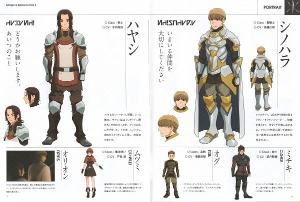 Tags: Anime, Hosoi Mieko, A-1 Pictures, Hai to Gensou no Grimgar, Mutsumi (Hai to Gensou no Grimgar), Michiki (Hai to Gensou no Grimgar), Hayashi (Hai to Gensou no Grimgar), Shinohara (Hai to Gensou no Grimgar), Ogu (Hai to Gensou no Grimgar), Official Art, Scan, Grimgar Of Fantasy And Ash