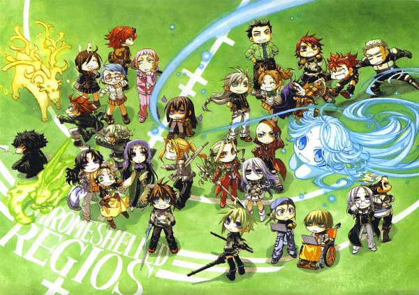Haia Salinvan Lyia - Chrome Shelled Regios