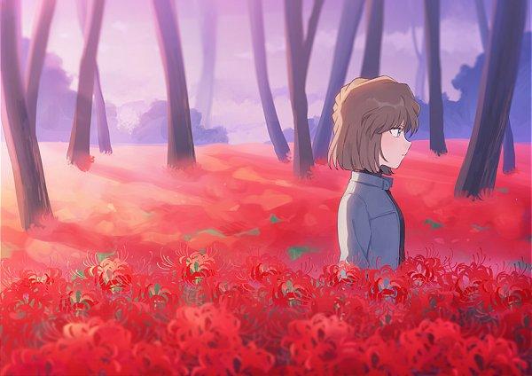 Tags: Anime, Zarutsu, Meitantei Conan, Haibara Ai, Fanart From Pixiv, Fanart, Pixiv