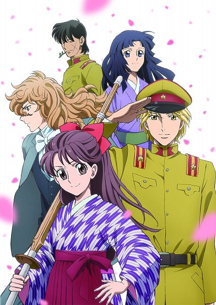 Tags: Anime, Haikara-san ga Tooru, Aoe Tousei, Ijuuin Shinobu, Hanamura Benio, Onijima Shingo, Fujieda Ranmaru, Character Request, Official Art