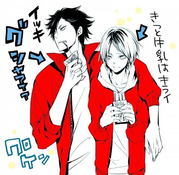 Tags: Anime, Ninn Jinn, Haikyuu!!, Kozume Kenma, Kuroo Tetsurou, Juice, Pixiv, Fanart From Pixiv, Fanart, Translation Request, Nekoma High