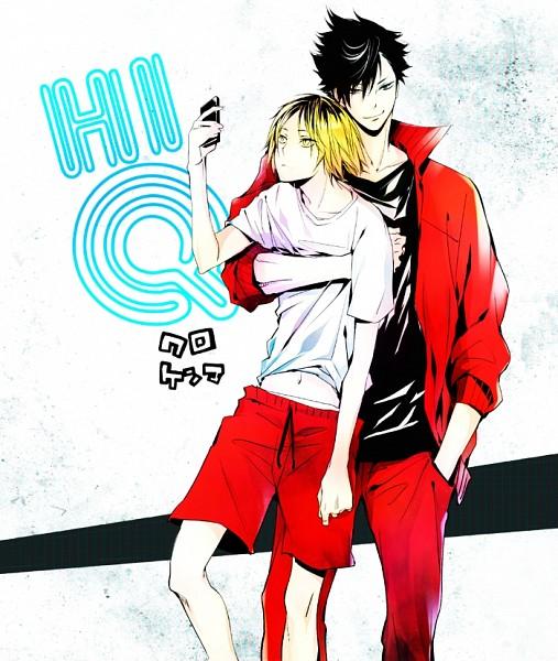 Tags: Anime, Ninn Jinn, Haikyuu!!, Kuroo Tetsurou, Kozume Kenma, Pixiv, Fanart, Fanart From Pixiv, Nekoma High