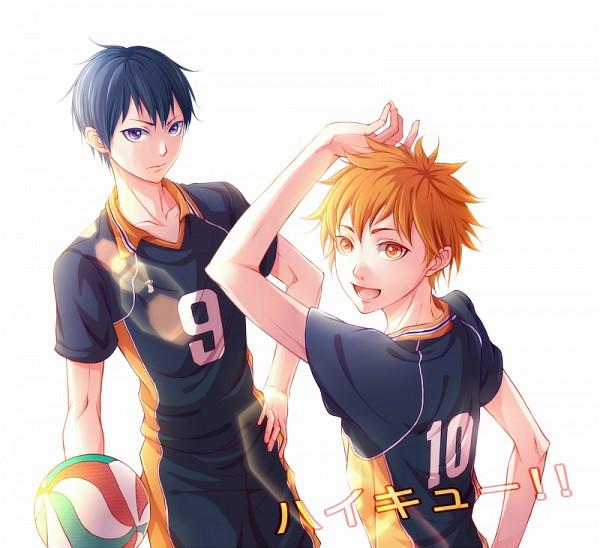 Tags: Anime, Pixiv Id 305410, Haikyuu!!, Kageyama Tobio, Hinata Shouyou, Volleyball Ball, Fanart From Pixiv, Pixiv, Fanart