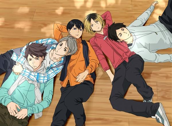 Tags: Anime, Pixiv Id 7587827, Haikyuu!!, Kageyama Tobio, Akaashi Keiji, Kozume Kenma, Oikawa Tooru, Sugawara Koushi, Fanart From Pixiv, Pixiv, Fanart