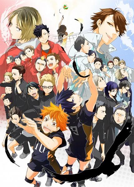 Tags: Anime, Mogmahiru, Haikyuu!!, Fukunaga Shouhei, Kageyama Tobio, Kozume Kenma, Sugawara Koushi, Yaku Morisuke, Hinata Shouyou, Kuroo Tetsurou, Kindaichi Yutarou, Tanaka Ryunosuke, Azumane Asahi