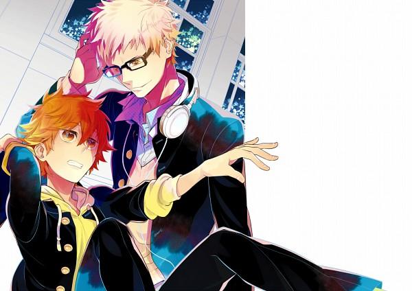 Tags: Anime, Pixiv Id 102189, Haikyuu!!, Tsukishima Kei, Hinata Shouyou, Pixiv, Fanart, Fanart From Pixiv