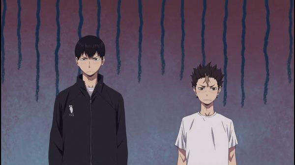 Tags: Anime, Furudate Haruichi, Production I.G., Haikyuu!!, Nishinoya Yuu, Kageyama Tobio, Screenshot, Small Screenshot