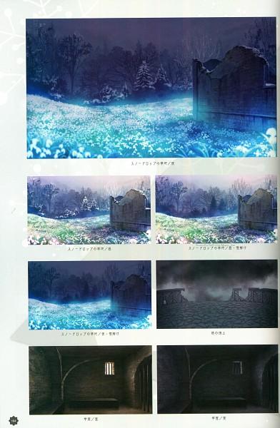 Tags: Anime, Yuiga Satoru, Otomate, Haitaka no Psychedelica Official Artbook, Haitaka no Psychedelica, Gray Sky, Self Scanned, Scan, Official Art, Psychedelica Of The Aa-nius