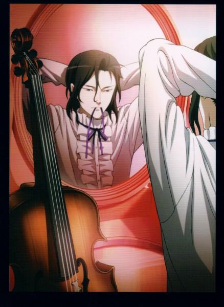 Tags: Anime, Ishii Akiharu, Production I.G., Blood+, Haji, Cello, Mobile Wallpaper, Official Art