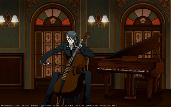 Tags: Anime, Ishii Akiharu, Production I.G., Blood+, Haji, Cello, Wallpaper, Official Art