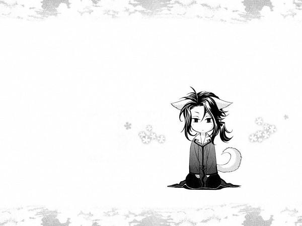 Tags: Anime, Blood+, Haji, Gray Outfit, Wallpaper, Fanart