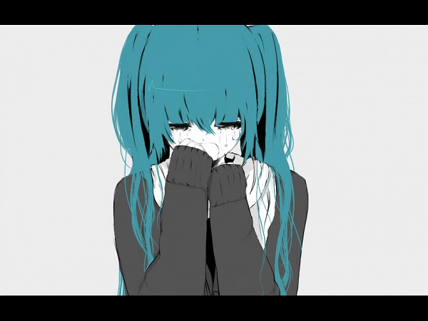 Tags: Anime, Yupi (Artist), VOCALOID, Hatsune Miku, Hajimete no Koi ga Owaru Toki, When The First Love Ends