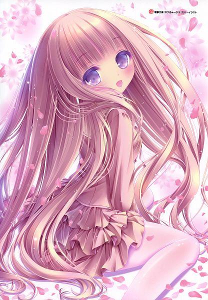 Tags: Anime, Tinkle, Tinkerbell, Ro-kyu-bu!, Hakamada Hinata, Scan, Official Art, Mobile Wallpaper