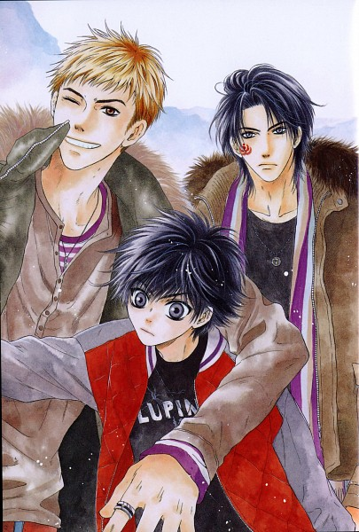 Tags: Anime, Abe Miyuki, Hakkenden: Touhou Hakken Ibun, Inuzuka Shino, Inuta Kobungo, Inukai Genpachi, Mobile Wallpaper, Official Art, Scan