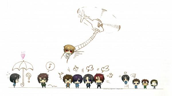 Tags: Anime, Sakura Takuto, IDEA FACTORY, Hakuouki SSL ~Sweet School Life~, Hakuouki Shinsengumi Kitan, Saitou Hajime (Hakuouki), Nagakura Shinpachi (Hakuouki), Hijikata Toshizou (Hakuouki), Nagumo Kaoru, Kazama Chikage, Yukimura Chizuru, Keisuke Sannan, Harada Sanosuke (Hakuouki)