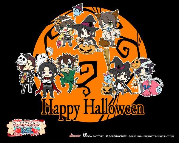 Tags: Anime, Sakura Takuto, Kazuki Yone, Otomate, IDEA FACTORY, DESIGN FACTORY, Hakuouki Shinsengumi Kitan, Hakuouki SSL ~Sweet School Life~, Hijikata Toshizou (Hakuouki), Nagakura Shinpachi (Hakuouki), Yukimura Chizuru, Harada Sanosuke (Hakuouki), Toudou Heisuke (Hakuouki)