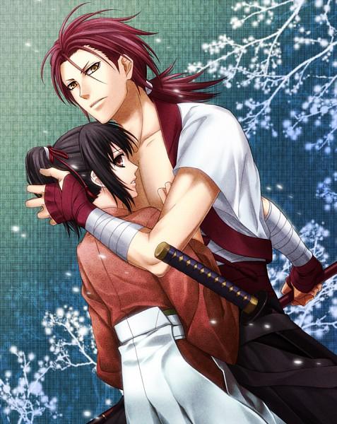 Tags: Anime, IDEA FACTORY, Hakuouki Shinsengumi Kitan, Harada Sanosuke (Hakuouki), Yukimura Chizuru, Demon Of The Fleeting Blossom
