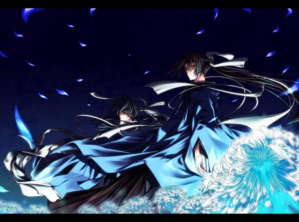 Tags: Anime, IDEA FACTORY, Hakuouki Shinsengumi Kitan, Saitou Hajime (Hakuouki), Hijikata Toshizou (Hakuouki), Demon Of The Fleeting Blossom