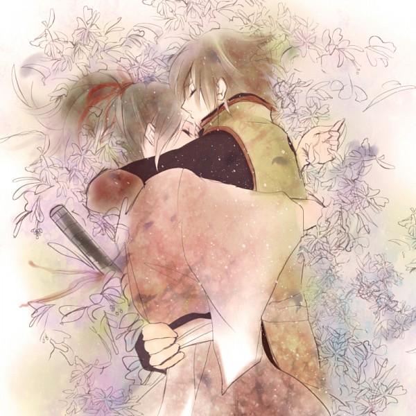 Tags: Anime, Minaki Rena, IDEA FACTORY, Hakuouki Shinsengumi Kitan, Okita Souji (Hakuouki), Yukimura Chizuru, Pixiv, Demon Of The Fleeting Blossom