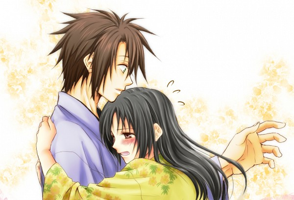 Tags: Anime, IDEA FACTORY, Hakuouki Shinsengumi Kitan, Yukimura Chizuru, Okita Souji (Hakuouki), Fanart, Demon Of The Fleeting Blossom