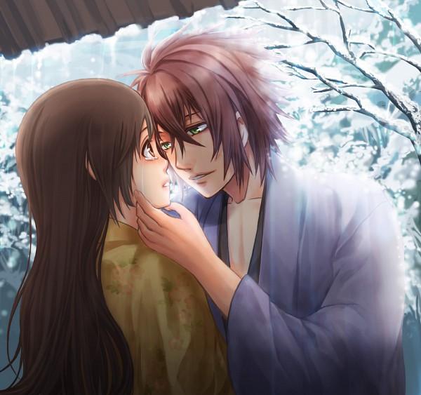 Tags: Anime, IDEA FACTORY, Hakuouki Shinsengumi Kitan, Yukimura Chizuru, Okita Souji (Hakuouki), Demon Of The Fleeting Blossom