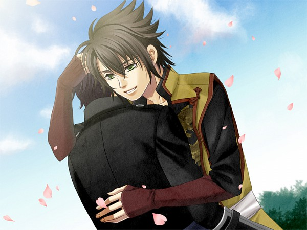 Tags: Anime, Mikuni04, IDEA FACTORY, Hakuouki Shinsengumi Kitan, Saitou Hajime (Hakuouki), Okita Souji (Hakuouki), Demon Of The Fleeting Blossom
